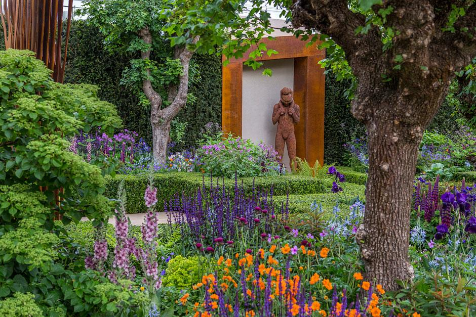 The Healthy Cities Garden At The Chelsea Flower Show 2015