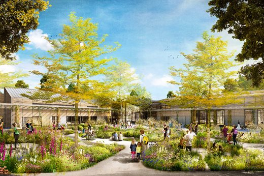 Design for the National Centre for Horticultural Science at RHS Garden Wisley