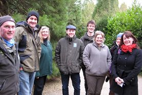 Team visit to Anglesey Abbey